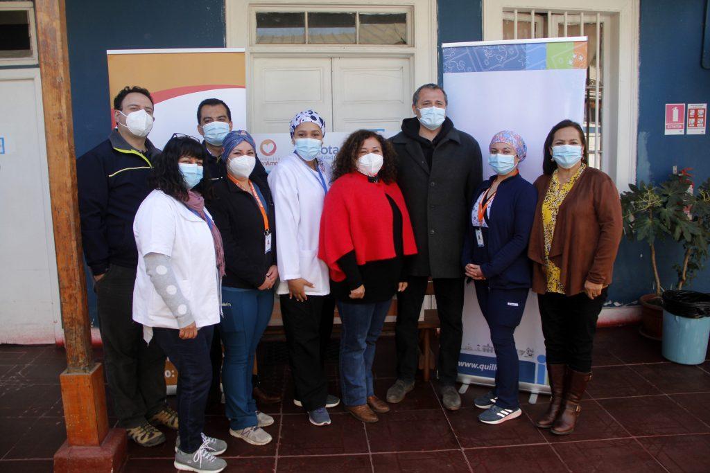 Con equipo de mujeres partió proyecto de mejoramiento de atenciones domiciliarias de salud en Quillota